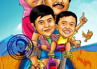 bikin-karikatur-family-keluarga-murah-berkualitas-12