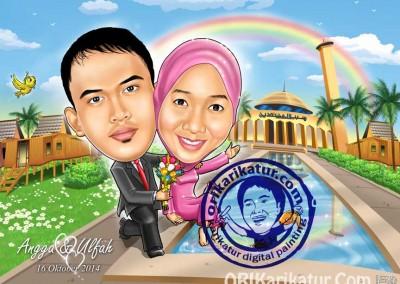 jasa-gambar-karikatur-wedding-prewedding-01