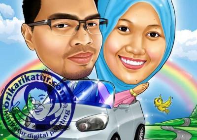 jasa-gambar-karikatur-wedding-prewedding-18