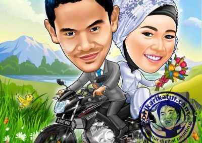 jasa-gambar-karikatur-wedding-prewedding-22