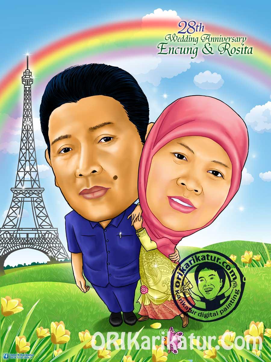 jasa-karikatur-anniversary-harijadi-gift-hadiah-05