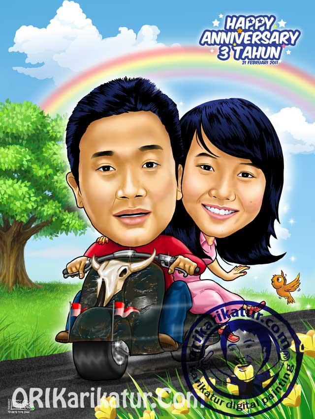 jasa-karikatur-anniversary-harijadi-gift-hadiah-06